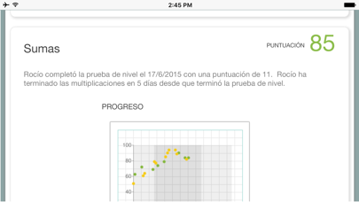 Screenshot for XtraMath in Spain App Store