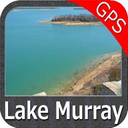 Lake Murray South Carolina GPS fishing chart