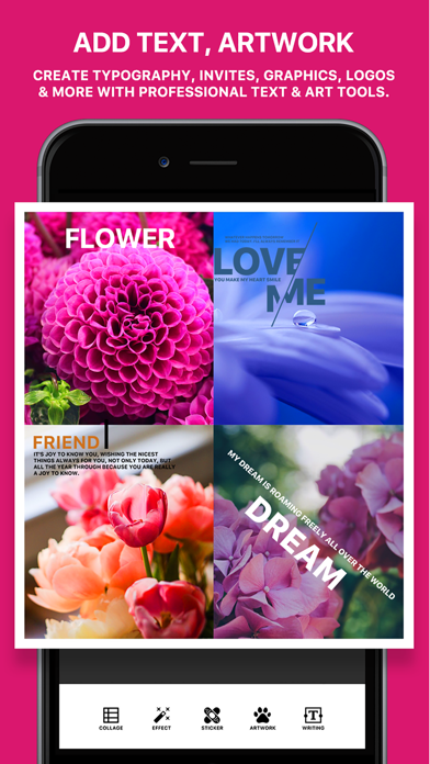 Photo Poster Pro - photo frame editor and picture collage maker ScreenShot0
