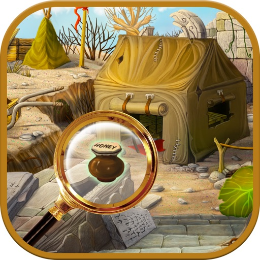Hidden Object Desert: Find and Spot the difference