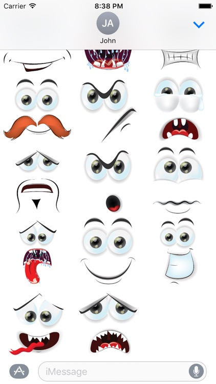 Face Cute Emotion Pack 01