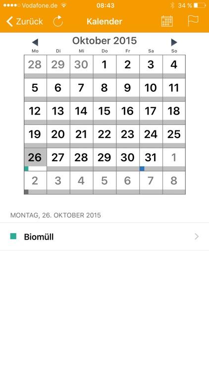 Abfall-App BB screenshot-3