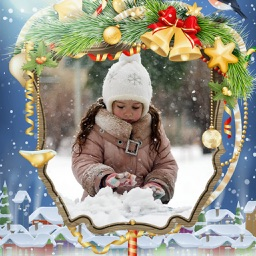Holly Jolly Christmas Frame - Beauty Frames