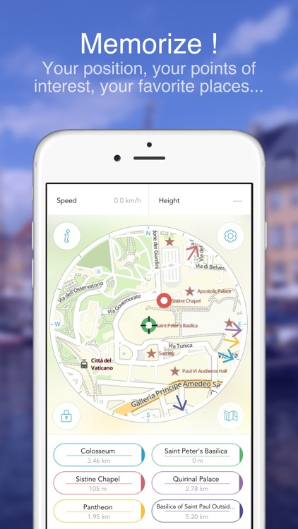 Rome on Foot : Offline Map