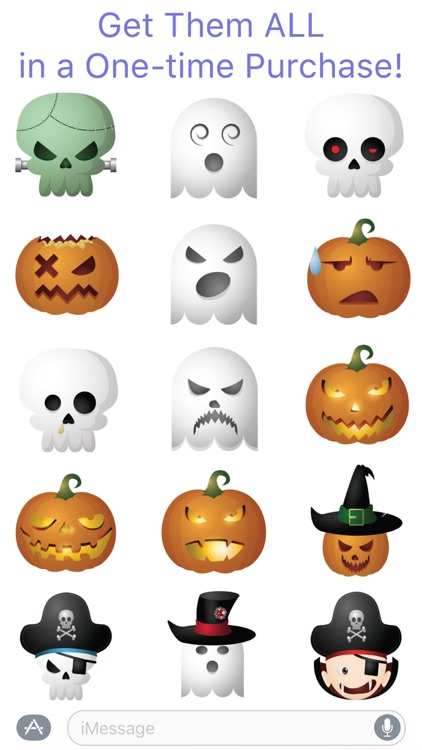 HallowMoji - Fun Halloween Emojis screenshot-4