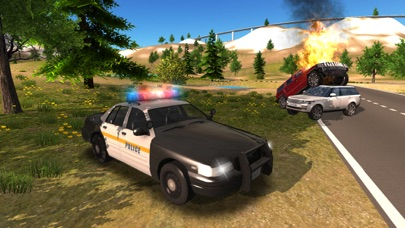 Police Car driving Offroad 4x4のおすすめ画像3