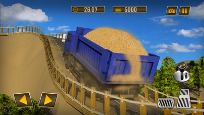 希尔建筑起重机操作员和卡车司机3D App 截图