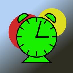 Stoplight Nanny The Kids Color Coded Alarm Clock