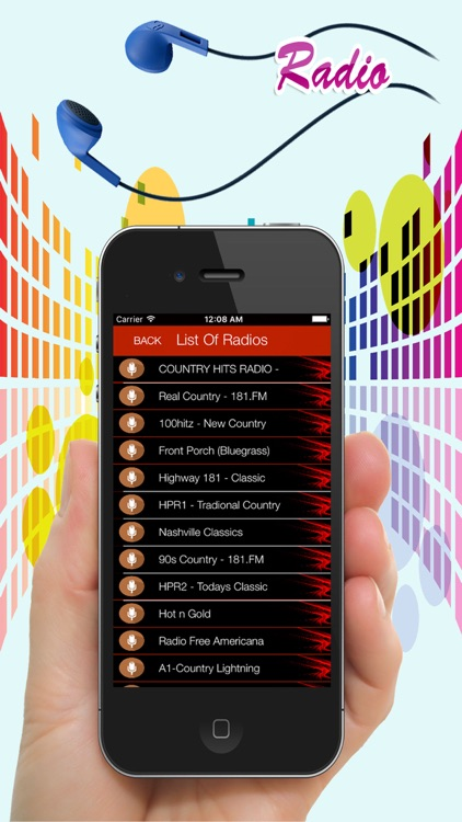 Country Radios - Top Music Stations - live mp3 pro