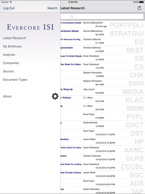 Evercore ISI