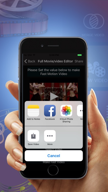 Full Movie And video Editor Pro screenshot-4