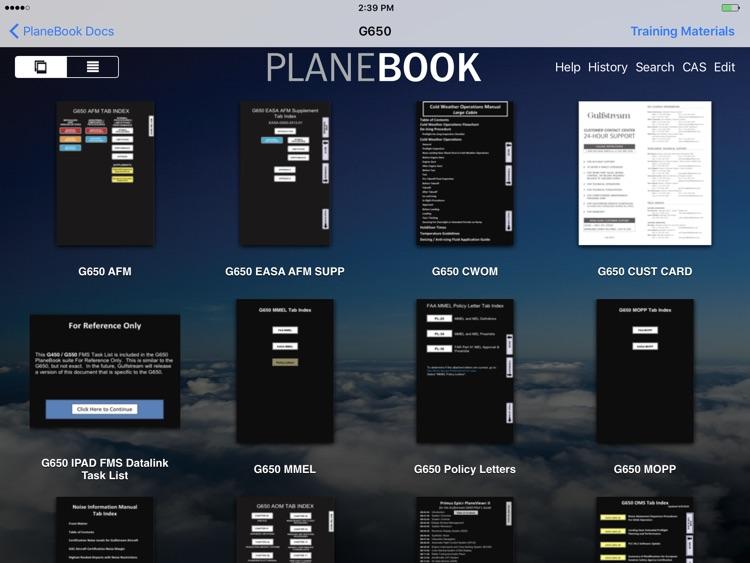 Gulfstream PlaneBook