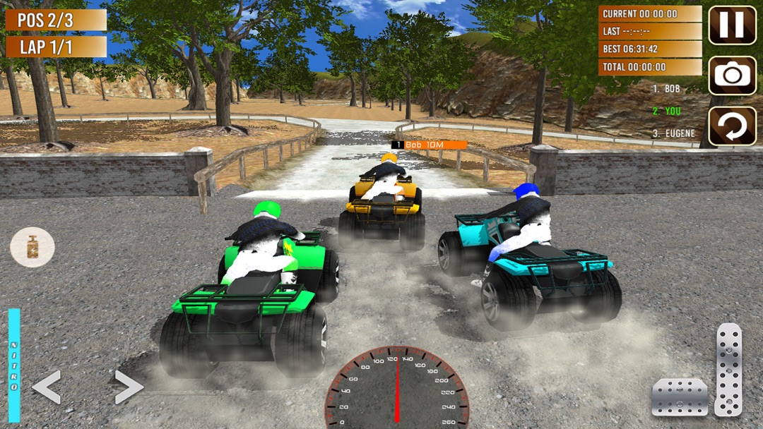 Quad Bike Race Off-Road Rally – Hill Climbing - Online Game