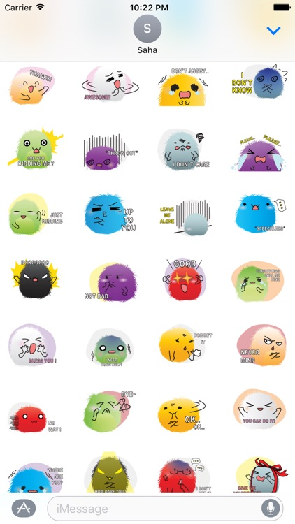 Pretty Ball Color Stickers