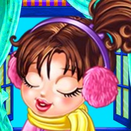 Cute girl is sick:Girls Makeup,Dressup,Makeover