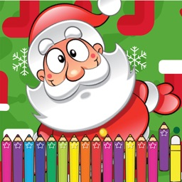 Christmas Coloring Games for kid for Preschoolers