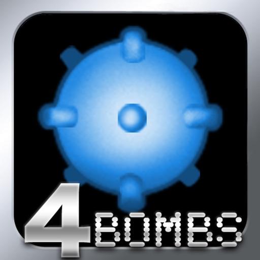 MineSweeper - 4 Bombs Logic