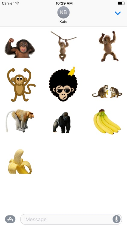 MonkeyStickerpack