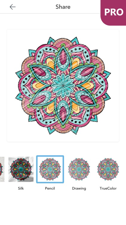 Mandala Coloring Pages For Adults PRO Screenshot 1