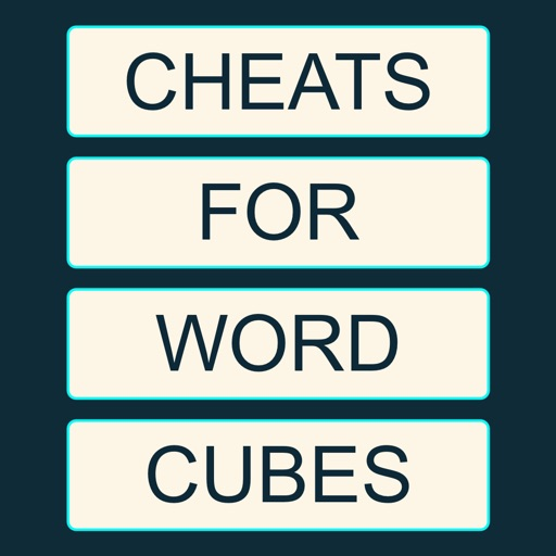 Cheats for Word Cubes - Bubbles Crossword for Brain Puzzle Lovers