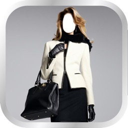 Elegant Women Suit Photo Montage