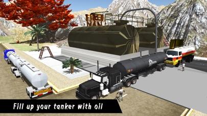 Oil Tanker Fuel Transporter Truck Driver Simulator App 截图