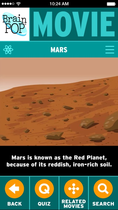 BrainPOP Featured Movie iPhone