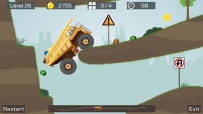 Big Truck -Mine Express Racing Скриншоты6