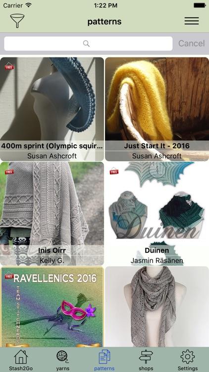 Stash2Go Lite: Knitting App for Ravelry