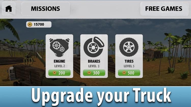Jungle Logging Truck Simulator 3D Full screenshot-3