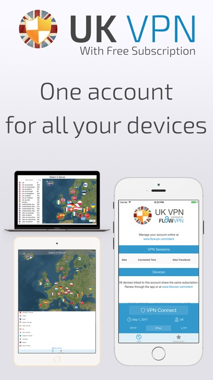UK VPN with FREE Subscription screenshot-4