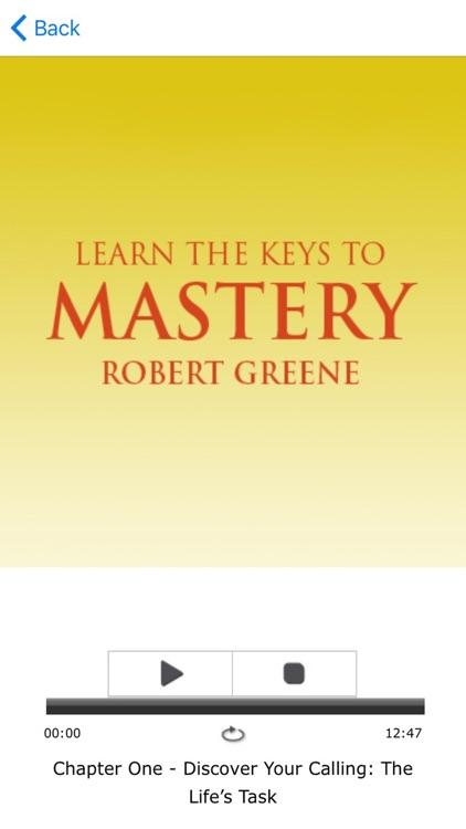 Mastery by Robert Greene Meditations Audiobook screenshot-3