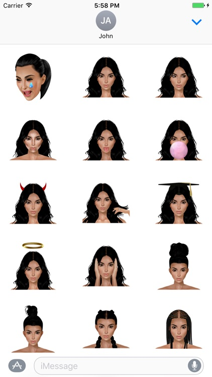 KIMOJI Stickers - Launch Pack