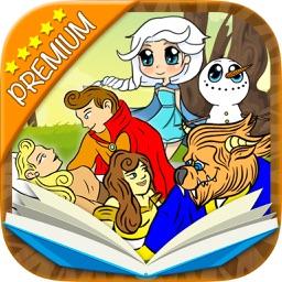Classic fairy tales 2 interactive book - Premium