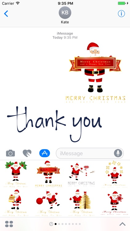 Christmas Wishes Stickers #1