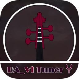 RAV Tuner - Orchestral string chromatic tuner