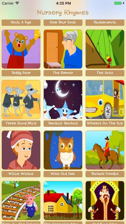 Nursery Rhymes: perfect rhymes app for kids by Hoang Tue