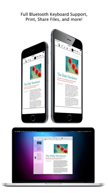 Mach Note - iCloud PDF Editor screenshot-4