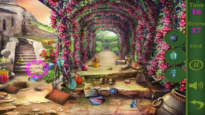 Hidden Objects Of The Citadel Garden screenshot two