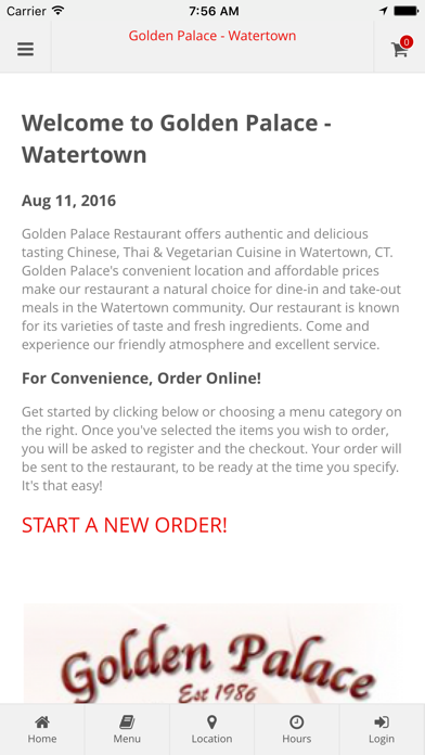 Golden Palace - Watertown Online Ordering