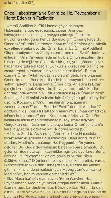 Hayatü's Sahabe screenshot two