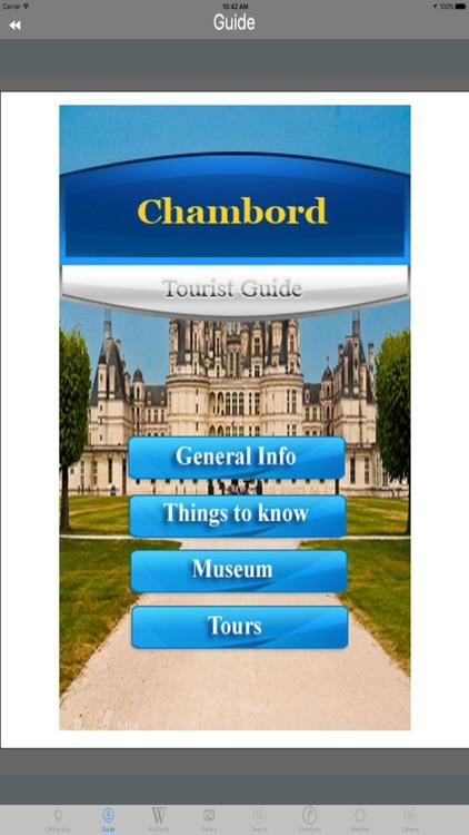 Chateau Chambord LoireValley France Tourist Travel screenshot-4