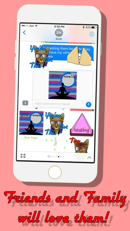 Believe in Miracles : Happy Stickers screenshot-3