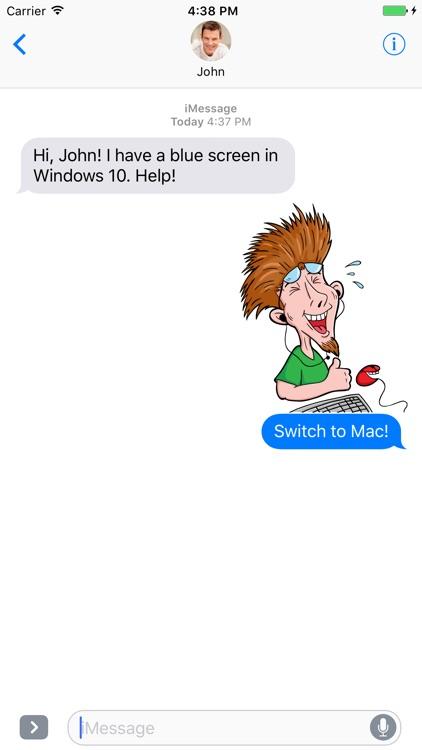 Tech Geek - Stickers for iMessage