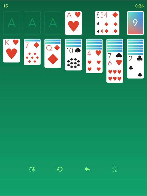 Solitaire 7: Free classic solitaire app screenshot