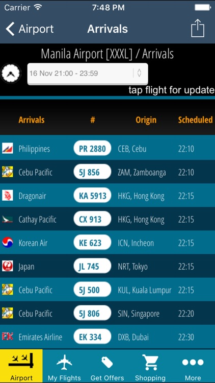Manila Airport Pro (MNL) + Flight Tracker