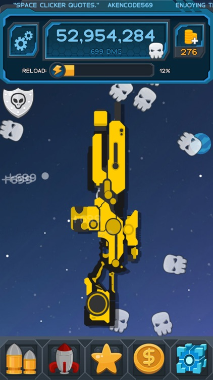 Space Clicker - Shooter Idle Clicker Game
