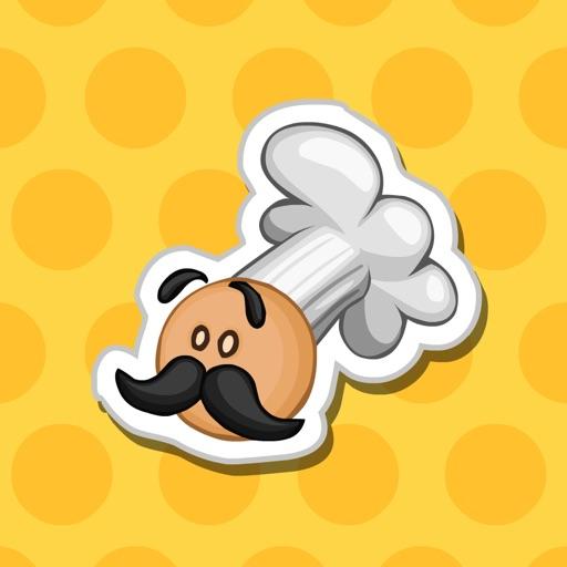 Papa Louie Stickers