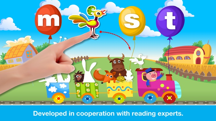 Phonics Fun on Farm Educational Learn to Read App