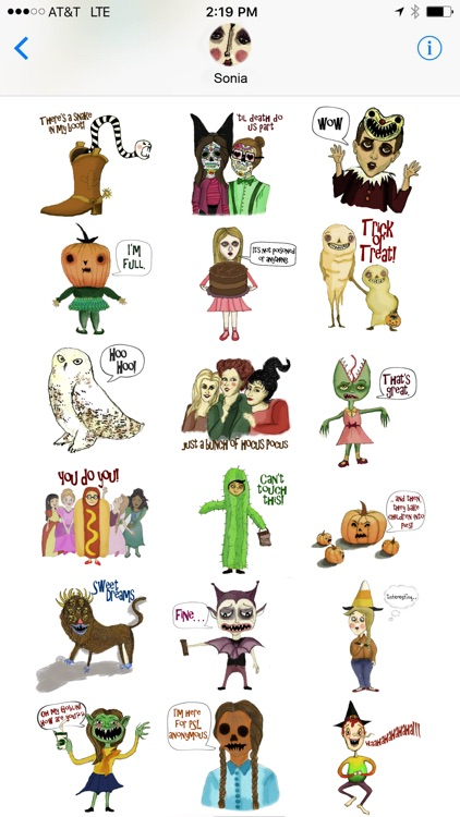 Halloween 2016 Stickers for iMessage